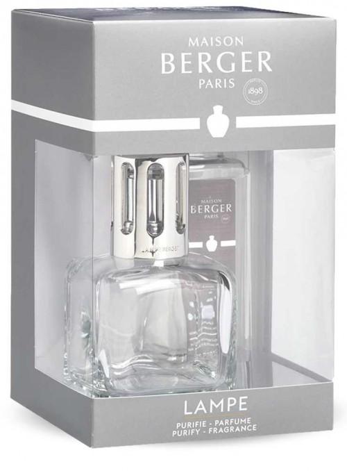 Startsæt luftrensende Maison Berger lampe Glacon Transparant duftlampe