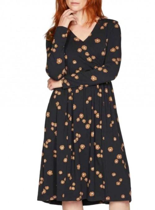 Bambus kjole i slå-om look, Everly fra Thought