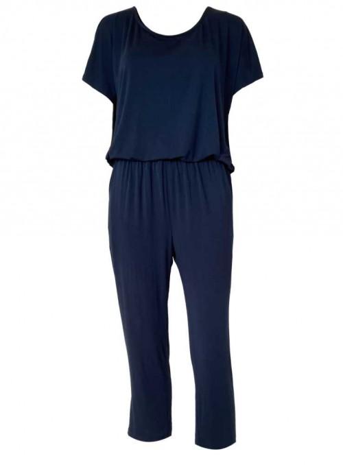 Bambus loungewear-sæt 2 dele Loungewear Set Navy