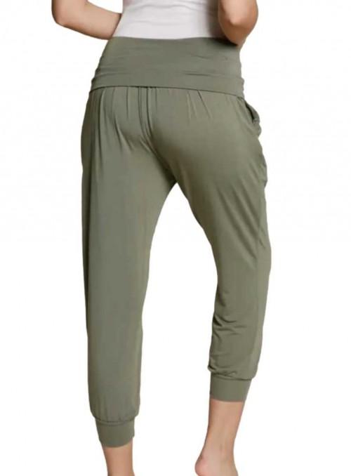 Bambus loungewear joggers Olive