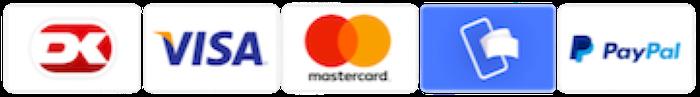 Sikker betaling med kort og mobilepay