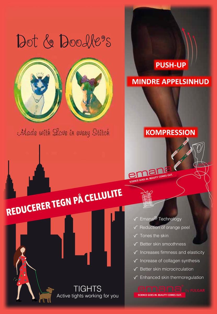Anti-cellulite Emana strømpebukser
